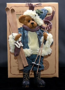 Boyd-039-s-JACQUE-DOWNHILL-CRUMPLETON-Skiing-Bear-73103-With-Tag-Box-FLAW