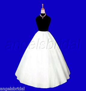32-034-FLOWER-GIRL-PAGEANT-BRIDAL-WEDDING-GOWN-DRESS-PETTICOAT-CRINOLINE-SKIRT-SLIP