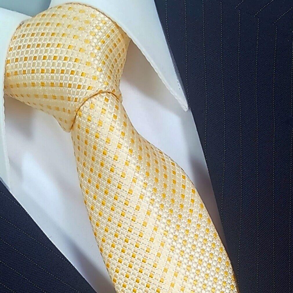 Tie Tie Tie Binder De Luxe Tie 601 Gold Yellow