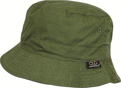 Highlander Premium Sun Hat Sunhat Summer Lightweight Cotton wide Brim White
