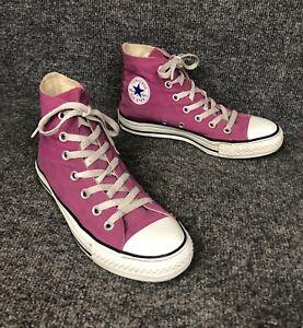 Detalles acerca de Mujer Converse Chuck Taylor All Star fucsia alta Top tenis zapatos talla 6 Usado En Excelente Condición mostrar título original