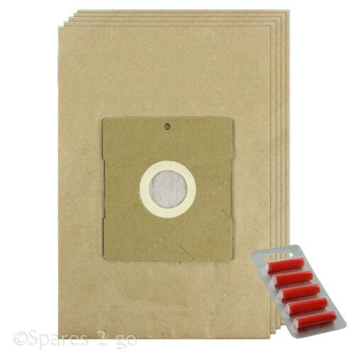FRESCO 5 X ASPIRAPOLVERE filtrata sacchi di carta per Vax Hoover Sacchetto
