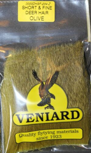 Fly Tying Veniard Fine Short Deer Hair for Comparadun Dry Flies L6