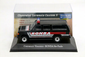 IXO-1-43-Scale-Chevrolet-Veraneio-Ronda-Sao-Paulo-Car-Toys-Diecast-Models-Gift