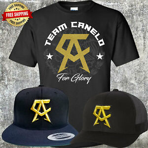 5def55252deb0 Canelo Saul Alvarez Hat with FREE T-Shirt - Choice of Trucker or ...