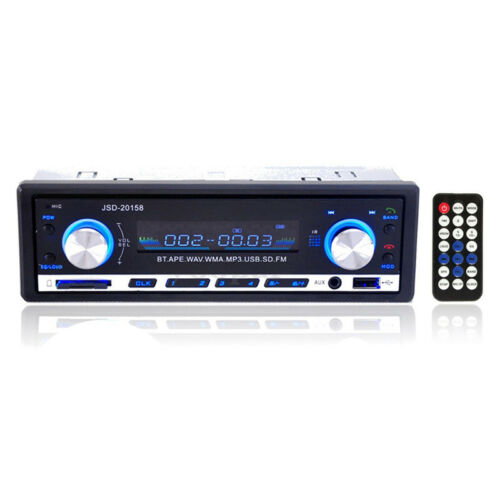 USB J4U7 SD JSD Auto Radio Bluetooth Stereo In-dash Kopf Einheit Spieler MP3