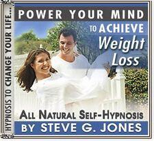 5 cds DR.STEVE G JONES Clinical Hypnotherapist WEIGHT LOSS SELF HYPNOSIS PACK