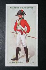 45th Foot  Nottinghamshire Regiment  Sherwood Foresters  Vintage # Card