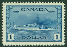 CANADA : 1942-43. Scott #262 Extra Fine, Mint Never Hinged. Catalog $100.00.