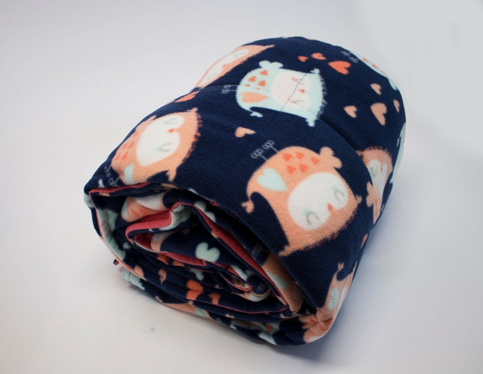 Weighted Blanket  Fleece Fabric - Helps to reduce insomnia,Anxiety, Sleep better