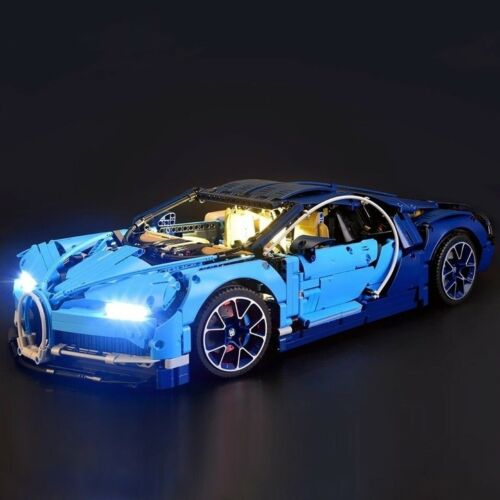 LED Light Lighting Kit ONLY For 42083 Bugatti Chiron Technic USB Interface