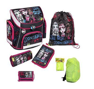 Monster High Schulranzen Set 6tlg. Federmappe Turnbeutel Ranzen Scooli MHCP8251