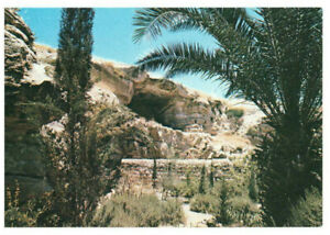 Jerusalem: Golgotha in the Garden Tomb, Israel, Palestine Rare Postcard