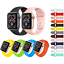 CINTURINO-per-Apple-Watch-series-4-3-2-1-SPORT-RUN-SILICONE-44-42-40-38-mm miniatura 1
