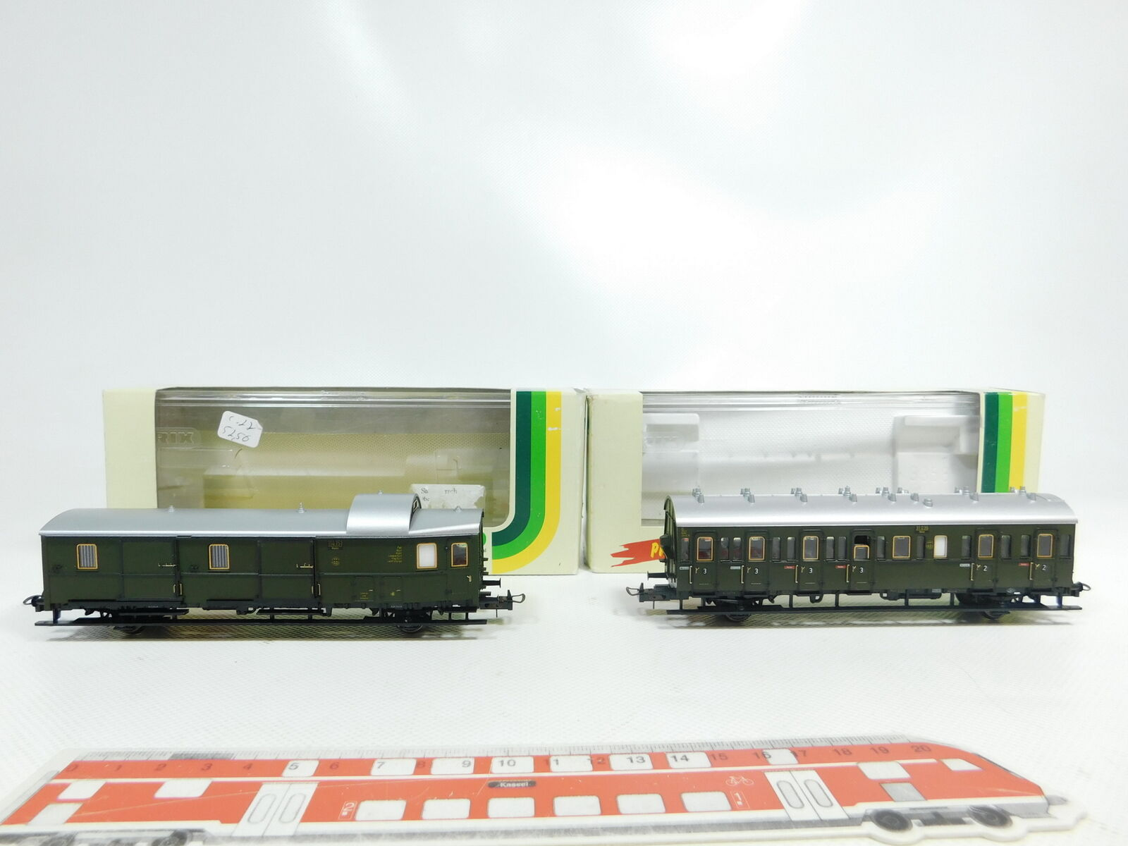 BJ86-1x Trix Int. H0 H0 H0 DC Personenwagen etc DRG NEM  23300+23302, NEUW+OVP 4cf3fb