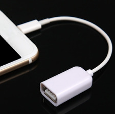 OTG Adapter Cable Male 8 Pin to USB Female Adapter For iphone 5/S/C iPad Useful