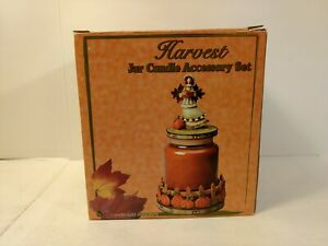 Harvest-Jar-Candle-Accessory-Set-Resin-Autumn-Fall-Thanksgiving-Decoration-h169