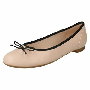 Affordable Ladies Clarks Ballerina Style Flats Couture Bloom