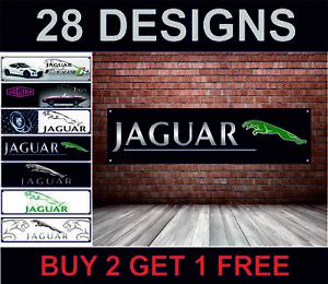 Jaguar Car workshop banner, x-type, XK, s-type,xkr, xj xf  F type poster