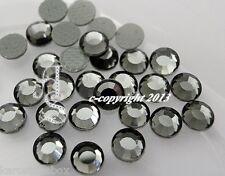 50 Hotfix Strasssteine  zum aufbügeln SS20  5 mm Crystal Karostonebox