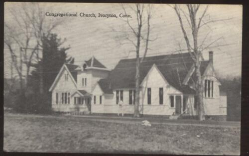 Postcard Ivoryton CT Congregational Church #2 view 20s?