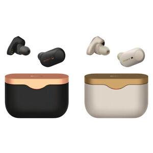 Sony WF 1000XM3 True Wireless Noise Canceling In-Ear Headphones Black / Silver