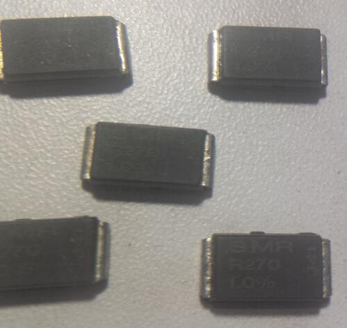 50m Ohm 5 x 1/% 5Watt Isabellenhütte SMR-R270//050 Präzisionswiderstand 270mΩ