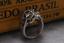 Anello-Massiccio-Fascia-Uomo-Donna-Unisex-Acciaio-Inox-Steel-Teschio-Skull-Punk miniatura 8