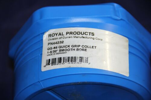 """Royal Products QG-65 Quick Grip Collet 1-5//32/"""" Smooth Bore 44232"""