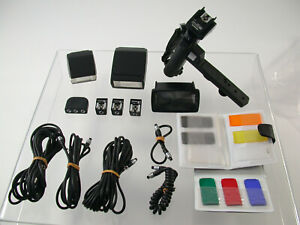 Posten-Lot-OLYMPUS-OM-Blitz-flash-T20-T32-Grip-2-Tele-Zoom-Kabel-21mm-etc-19