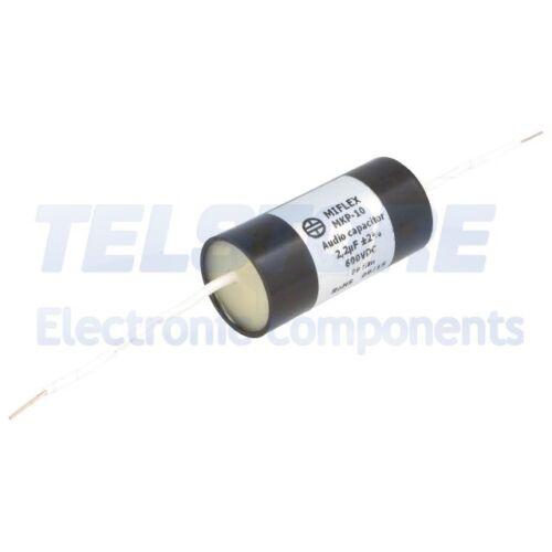 1pcs  Condensatore in polipropilene 2,2uF 600VDC ±2/% Ø25x51mm TELSTORE