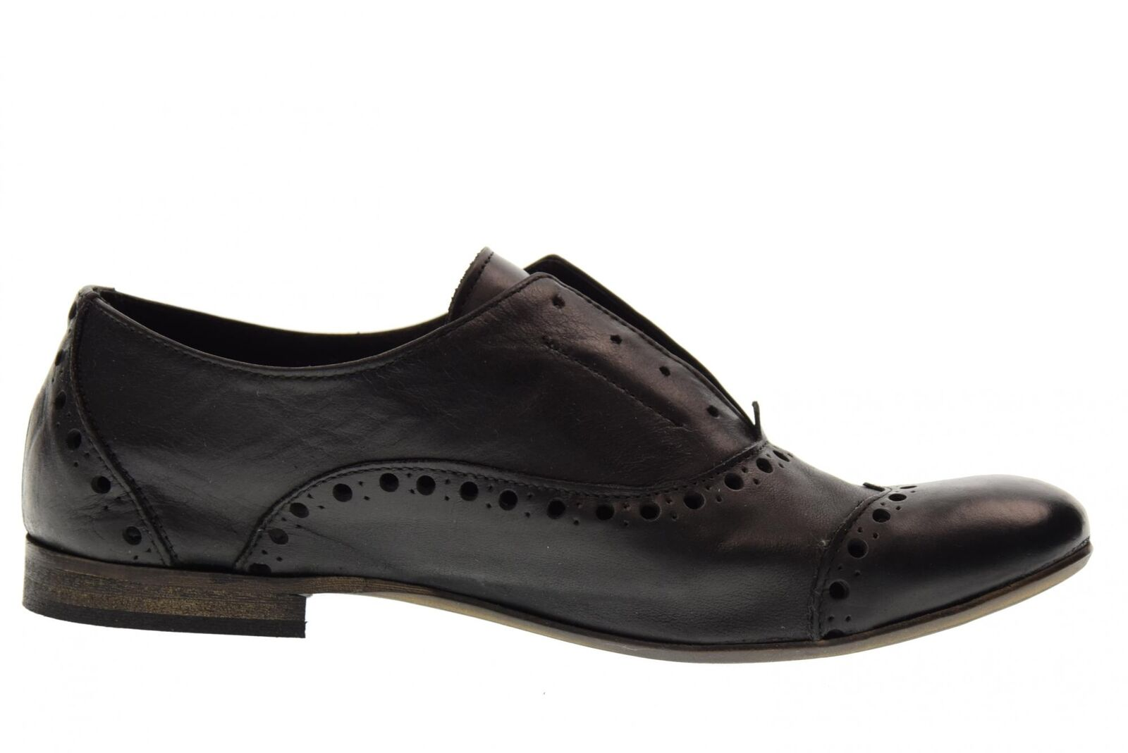 Erman's P18f chaussures classiques classiques chaussures 210FOR BLACK 98e6b6