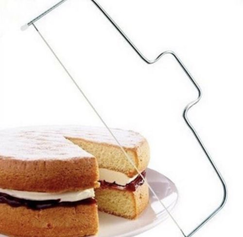 Cake Cutter Leveller Leveler Decorating Bread Wire Slicer Cutting Decors Tool.M