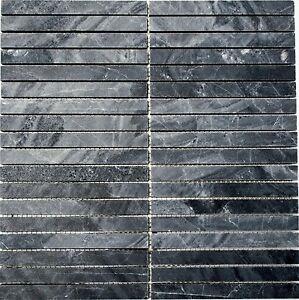 Pietre-Mosaico-bastoncini-DELTA-NERO-Mosaic-Netted-marmo-Art-42-1404-f