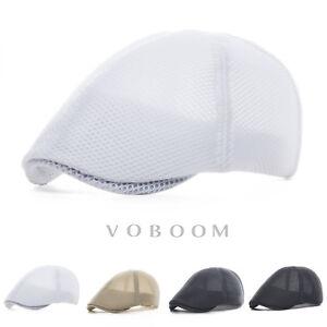 chapeau-de-lierre-Hommes-chapeau-d-039-ete-Mesh-respirant-beret-Cabbie-chapeau-3