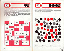 Concentration Training Exercises  - Konzentrations German Werneck Ullmann Brain