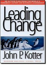 Leading Change by Kotter, John P. Hardback Book The Cheap Fast Free Post
