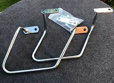 Satteltaschenhalter Honda VT 1100 C2 Shadow ACE, chrom, Abstandshalter, Halter