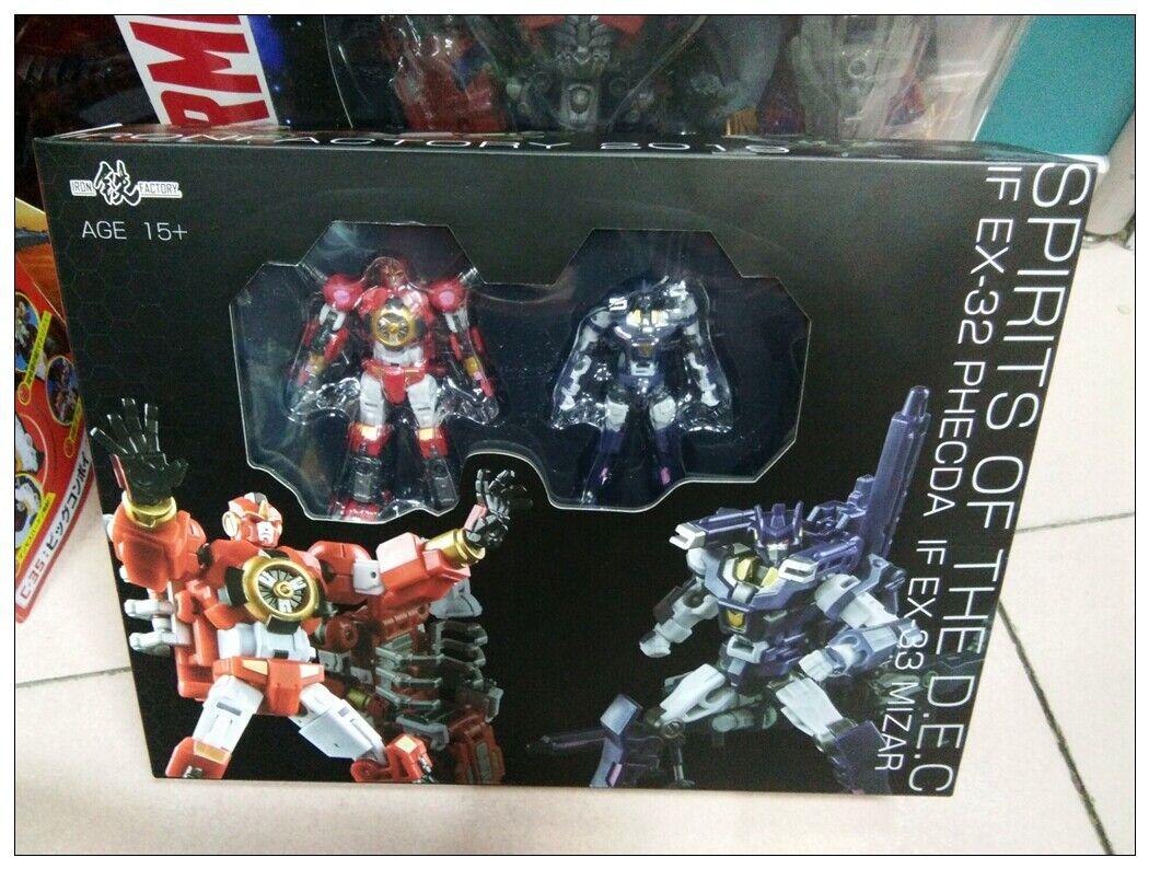 Transformers IronFactory IF EX-32 33 Spirits of The D.E.C Phecda Phecda Phecda Mizar nuovo dbfbfe