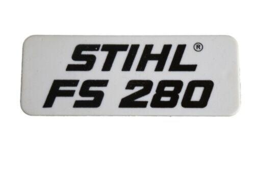 Typenschild für Stihl FS 280