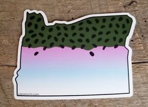 SincèRe Steelhead Stickers State Cut-outs Fishing Many States Bc Fly Fishing Decals