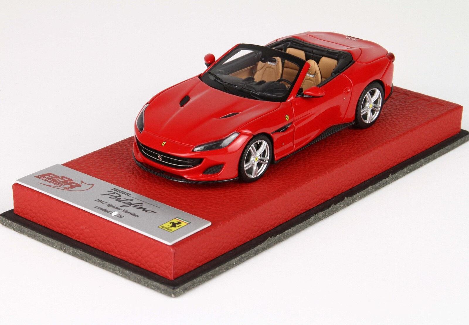 Ferrari Portofino 2017 rouge Corsa 1 43 lim.ed. 20 pcs BBRC207BPRE BBR