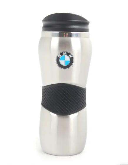 68b428d67c9 Genuine BMW Gripper Travel Mug Stainless Steel for sale online | eBay