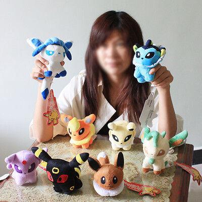 New Pokemon Plush Character Soft Toy Stuffed Animal  Collectible Cute Doll