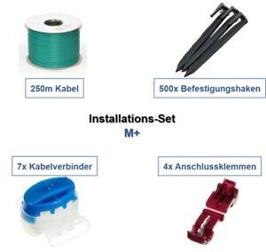 Installation-Set-M-AL-KO-Robolinho-4000-4100-solo-Kabel-Haken-Verbinder-Paket