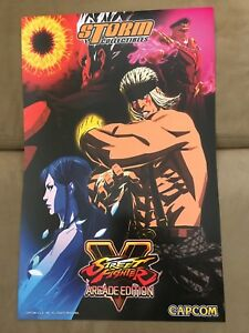 Details about SDCC 2018 STREET FIGHTER V 11x17 POSTER STORM COLLECTIBLES  CAPCOM EXCLUSIVE HTF