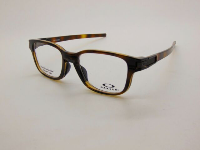 d73968f7210 NEW OAKLEY LATCH SS OX8114-0250 Polished Brown Tortoise 50mm Rx Eyeglasses