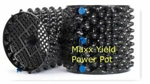 "MaXX Yield ""Power Pot"" 3 Gallon Equivalent Air Root Pruning Flower Pot"