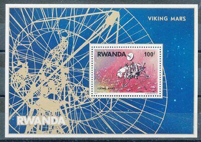 Ruanda Block 78** Raumfahrt BüGeln Nicht Trendmarkierung 663696 Briefmarken