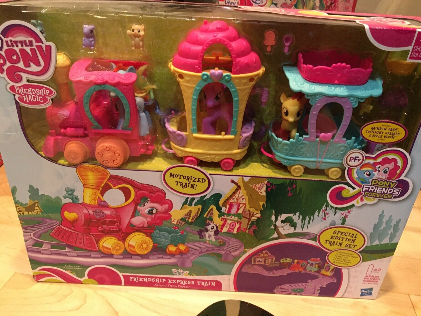 My Little Pony Friendship Express Train Set